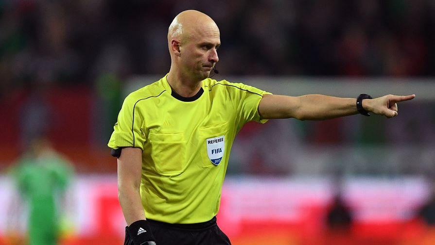 Футбольный судья Сергей Карасев