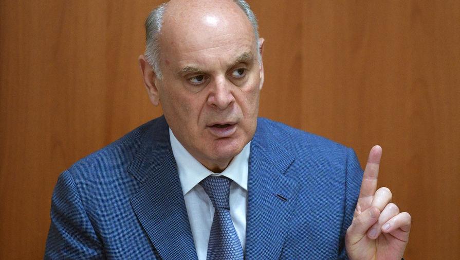 Президент Абхазии Аслан Бжания