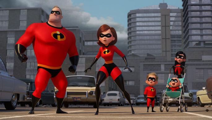 Кадр из мультфильма «Суперсемейка 2» (2018)