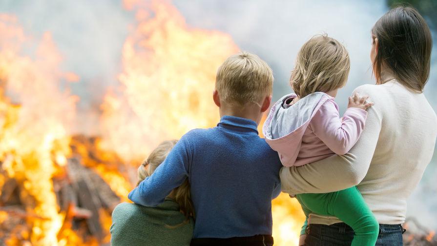 Камчатская школьница спасла пятерых детей из пожара