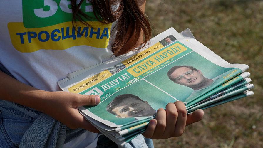 Партия Зеленского может получить 247 мест в Раде