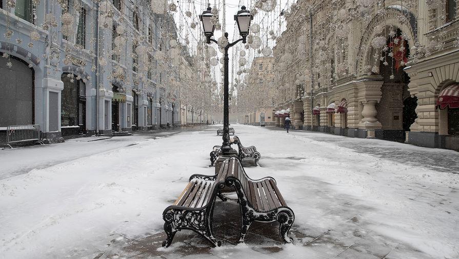 Центр Москвы, 31 марта 2020 года