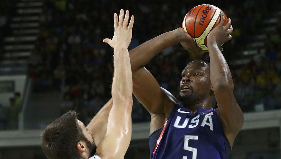Американские баскетболисты повторили антирекорд восьми последних Олимпиад