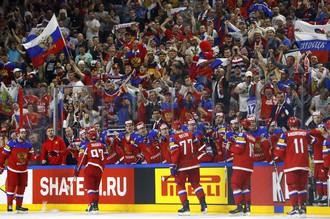 Сборная России в преддверии матча с командой США на чемпионате мира по хоккею – 2017