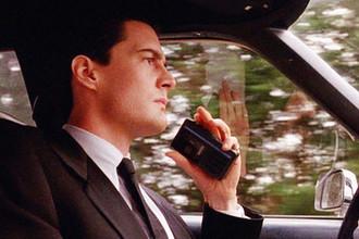 Кайл Маклахлен в роли агента Купера в сериале «Твин Пикс»