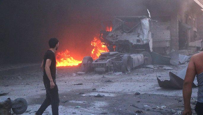 «Ширма для эвакуации боевиков»: зачем США нанесли удар по Сирии