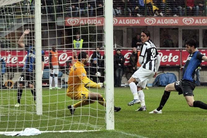 Победный мяч «Юве» в исполнении Алессандро Матри