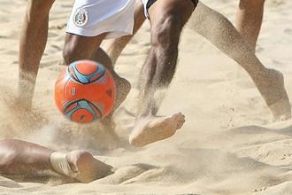 Пляжный футбол- классное зрелище