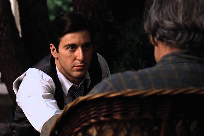 Кадр из фильма «Крестный отец», 1972 год