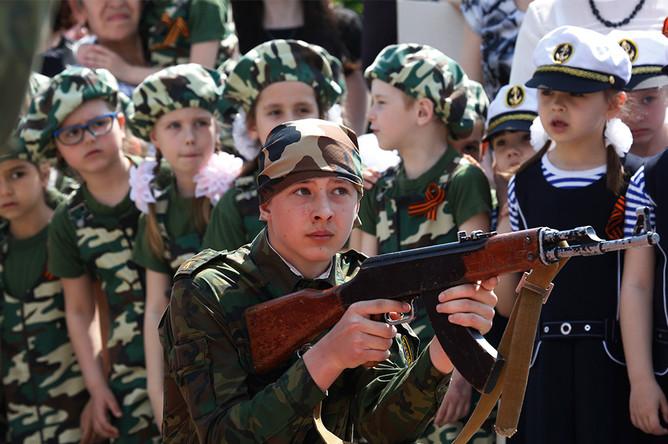 Участники «Парада детских войск»