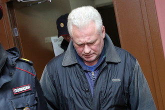 Владимир Долгополов сразу после оглашения приговора