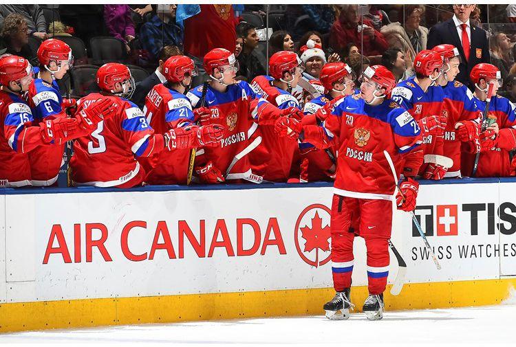 Победа в матче со Словакией позволила российской сборной занять третье место в группе