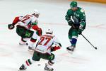 Александр Радулов вматче плей-офф против «Ак Барса»