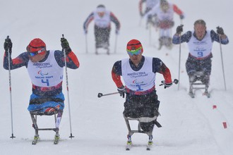Лыжные гонки на Паралимпиаде-2014 в Сочи продолжились эстафетами