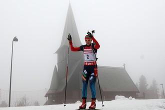 Ольга Вилухина стала бронзовым призером гонки преследования в Хольменколлене