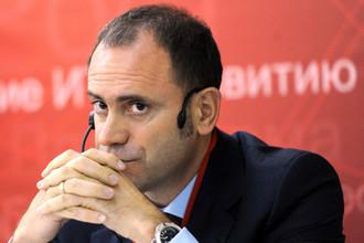 Глава Союза конькобежцев России Алексей Кравцов