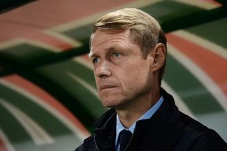 Бывший главный тренер ФК «Ахмат» Олег Кононов