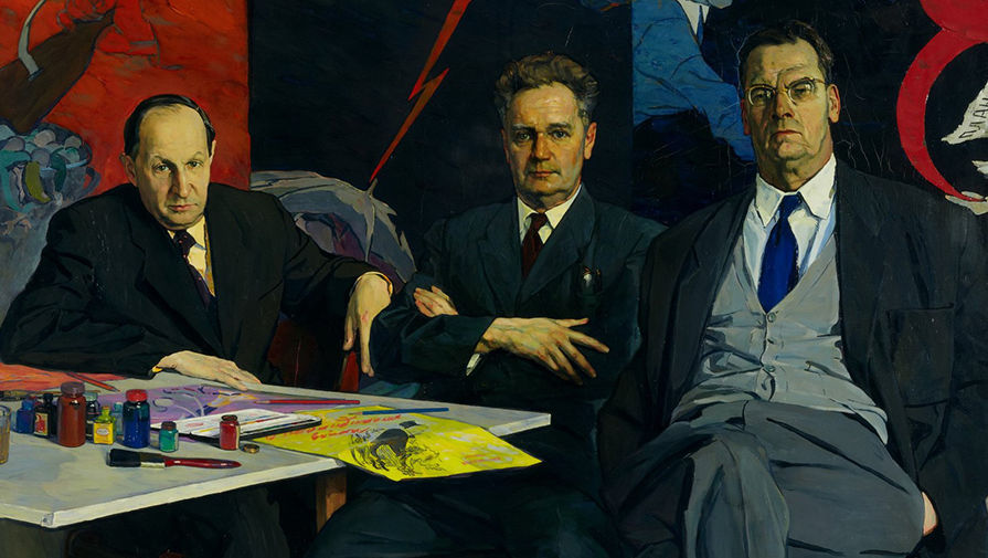 «Портрет художников Кукрыниксов»(1957-1958)