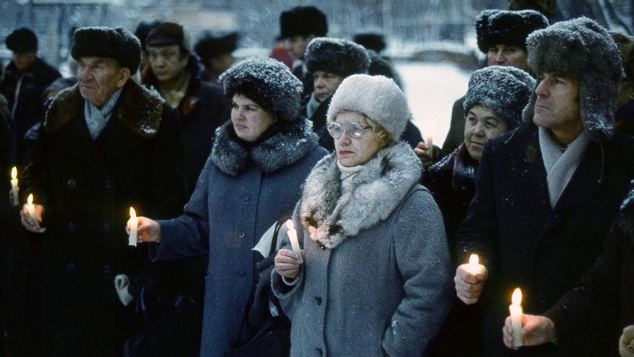 «Вспоминая жертв политических репрессий» Рустам Мухаметзянов, Казань, 1989 г.,