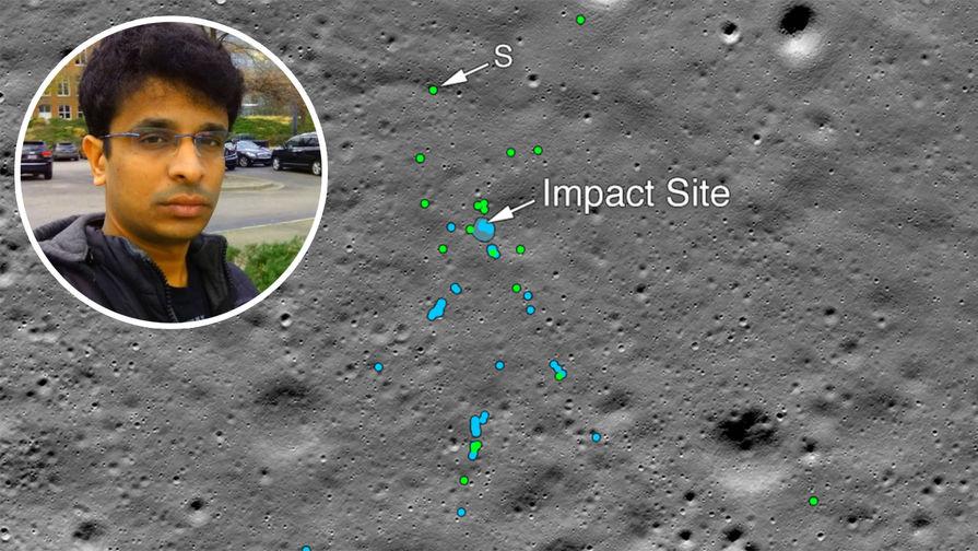 Весь распался на куски: обнаружены обломки лунного зонда