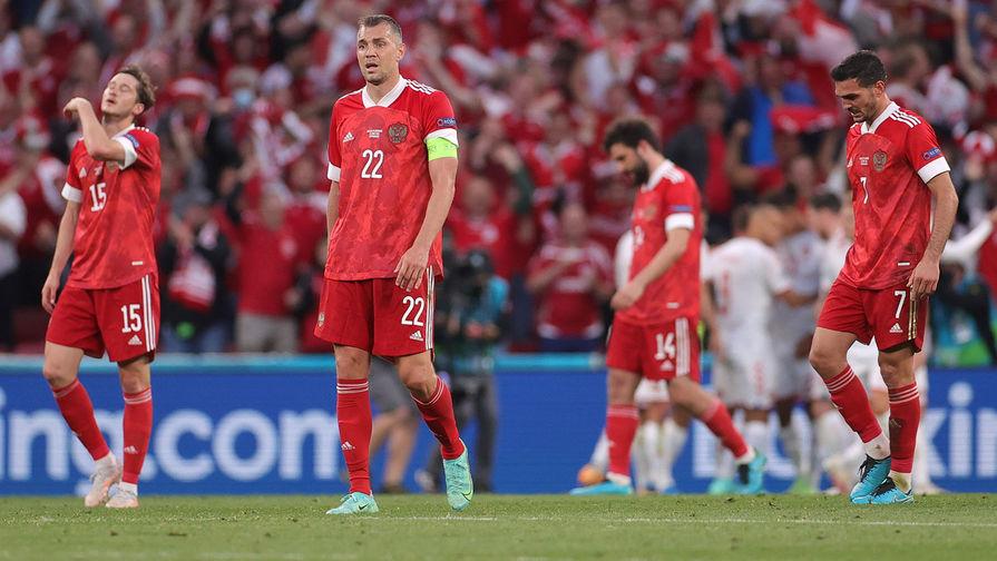 Датчане забили второй мяч в ворота сборной России