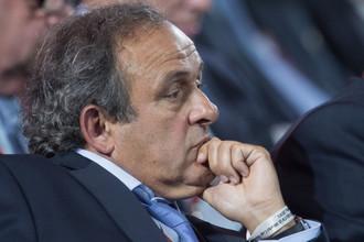 Бывший президент УЕФА Мишель Платини
