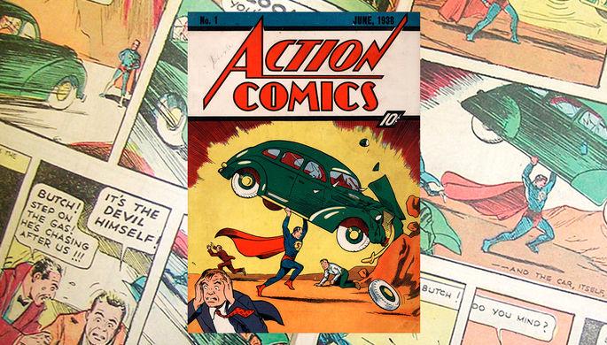 Ограбление Николаса Кейджа и спасение дома: как искали первый комикс о Супермене