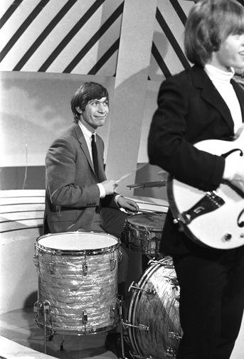 Чарли Уоттс в 60-е годы