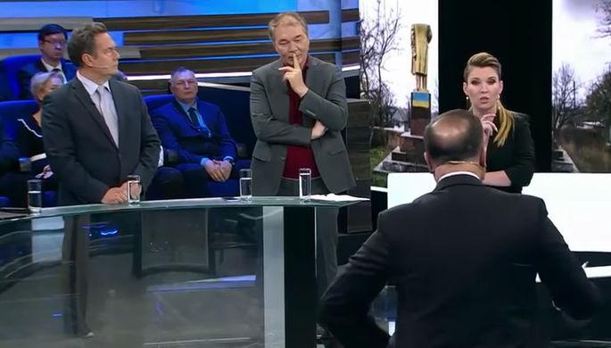 Ведущая программы «60 минут» Ольга Скабеева (кадр из видео)