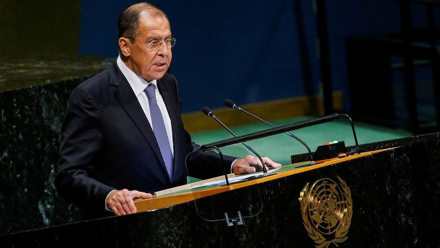 Лавров назвал неприемлемой ситуацию с невыдачей виз делегатам ГА ООН