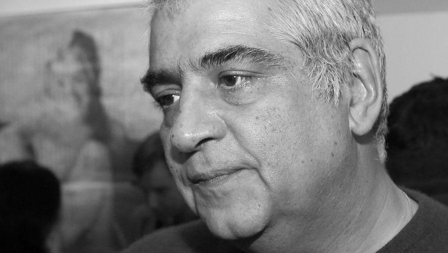 Александр Тимофеевский на открытии выставки «Илья Пиганов. ТОМ III ПИГАНОВЫ», 2013 год