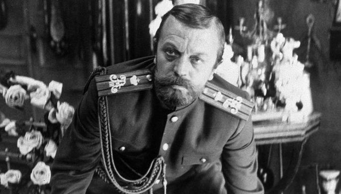 Анатолий Ромашин в роли царя Николая II в фильме «Агония» (1985)
