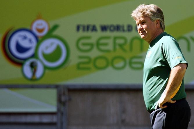 На ЧМ-2006 голландский специалист вывел в плей-офф сборную Австралии