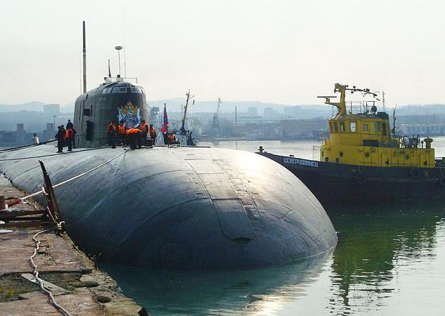 атомная подводная лодка саратов
