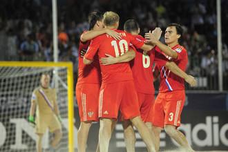 Россияне на чемпионате мира в Таити выиграли все три матча в своей группе