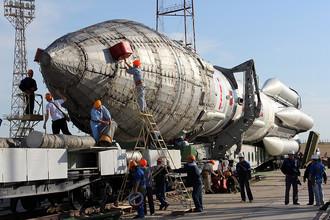 Запуск ракеты «Протон-М» в очередной раз перенесен