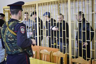 Оглашение приговора по делу «приморских партизан» во Владивостоке