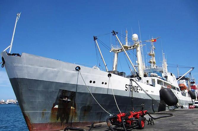 Большой автономный морозильный траулер (БАТМ) «Дальний Восток», который до 2014 года назывался Stende и был приписан к рижскому порту