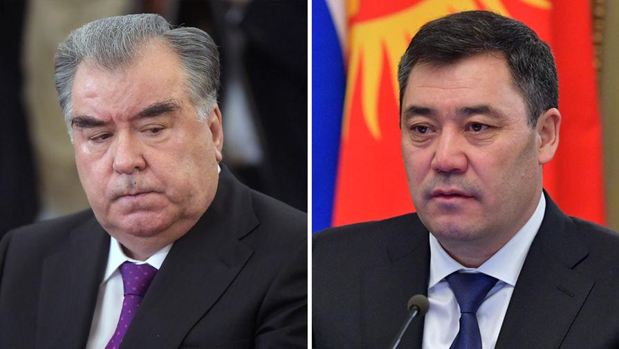 Эмомали Рахмон и Садыр Жапаров