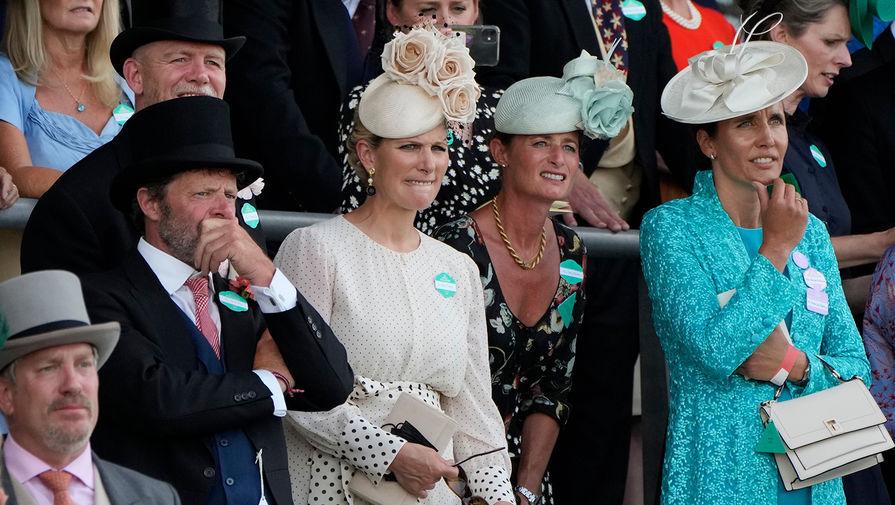 Зара Тиндалл, дочь принцессы Анны, на турнире Royal Ascot, 2021 год