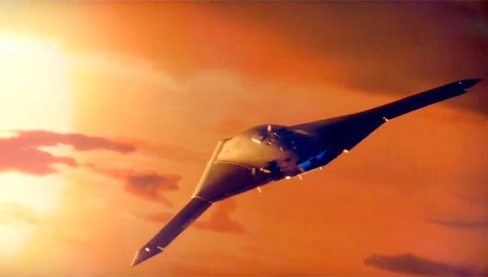 Концепт истребителя 6-го поколения корпорации Northrop Grumman
