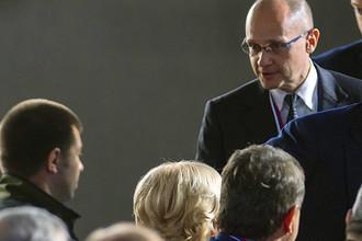Первый замглавы администрации президента Сергей Кириенко, октябрь 2016 года