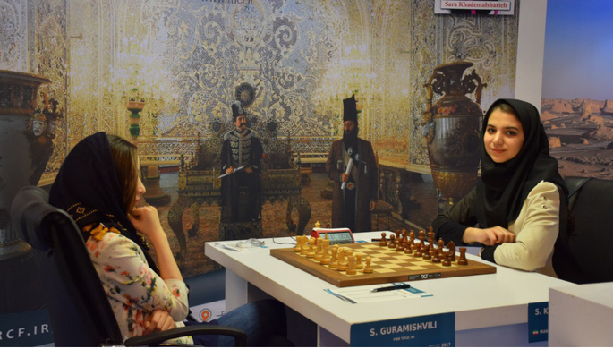 В Тегеране стартовал ЧМ по шахматам среди женщин