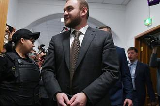 Сенатор Рауф Арашуков в Басманном суде, 30 января 2019 года