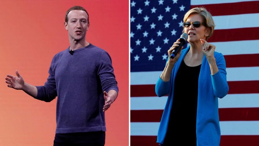 Цукерберг раскритиковал кандидата в президенты США от Демократов