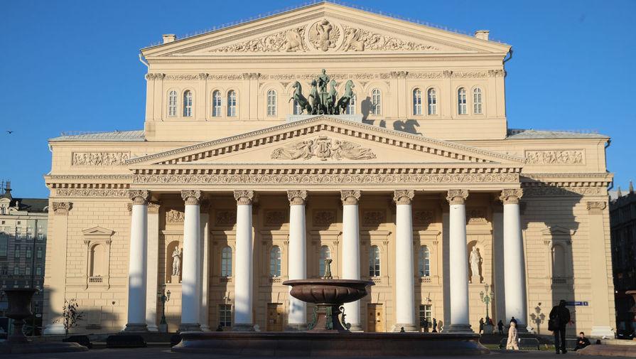 Здание Государственного академического Большого театра, 2020 год