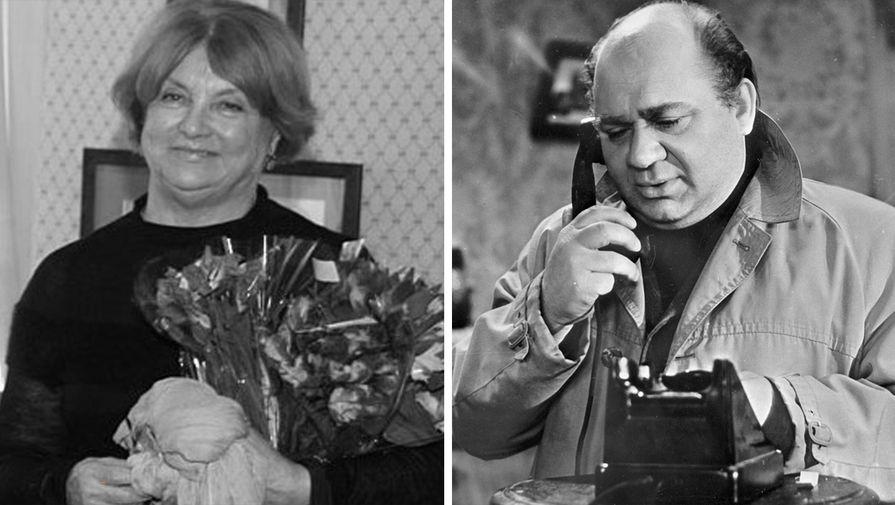 Ванда Леонова и Евгений Леонов (коллаж)