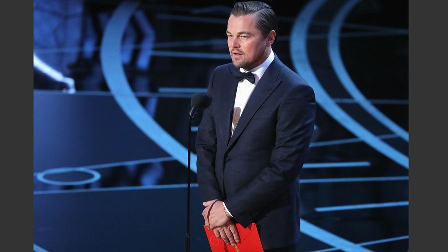 Леонардо ДиКаприо объявляет номинанток на лучшую женскую роль