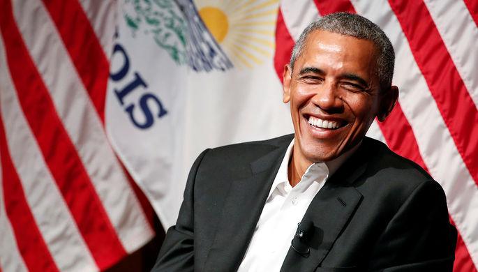Бывший президент США Барак Обама во время встречи с молодежью в университете Чикаго, Иллинойс, 24 апреля 2017 года