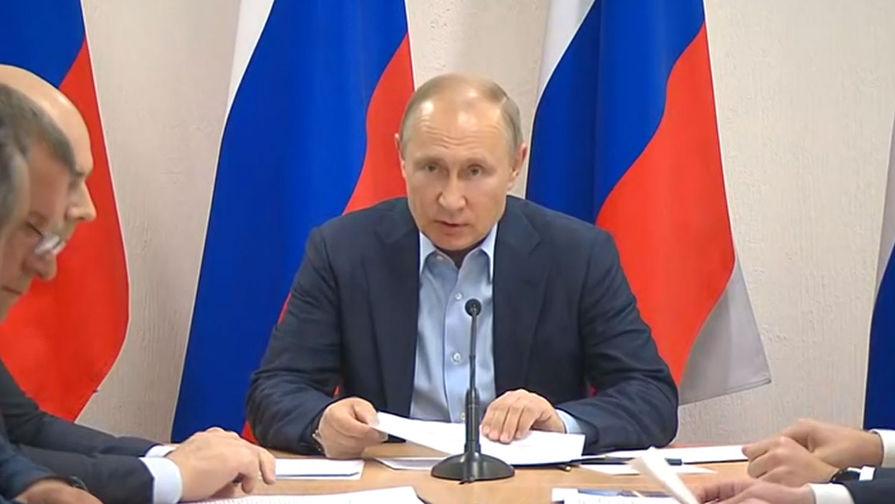 Путин оценил масштабы разрушений в затопленной Иркутской области